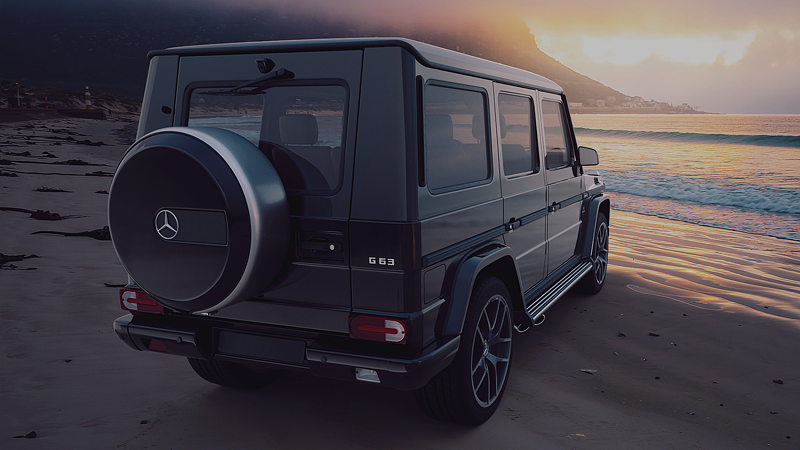 Visualisierung Mercedes-Benz G63 AMG